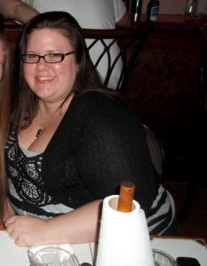 This is me in April 2011.  I am my biggest here.  I can't even say the number out loud, it's so high.